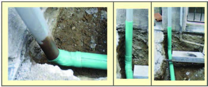 Posizionamento giunto dielettrico progettogas - Tubo gas interrato ...