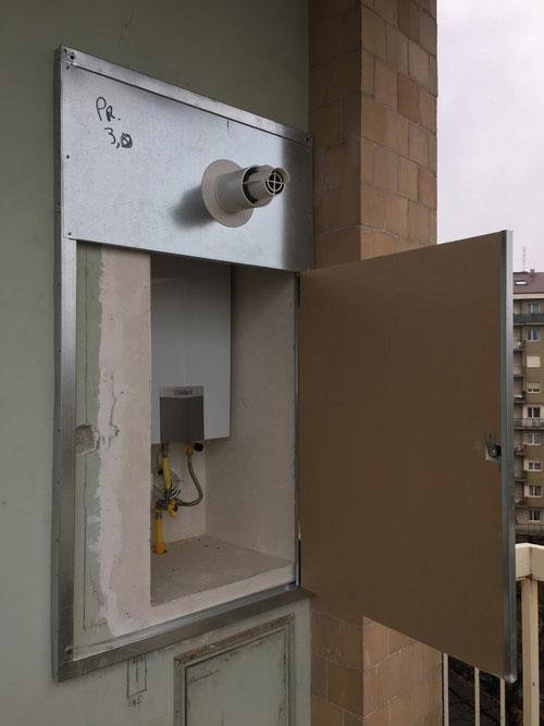 Caldaia in vano tecnico all esterno dell edificio l - Caldaia all interno dell appartamento ...