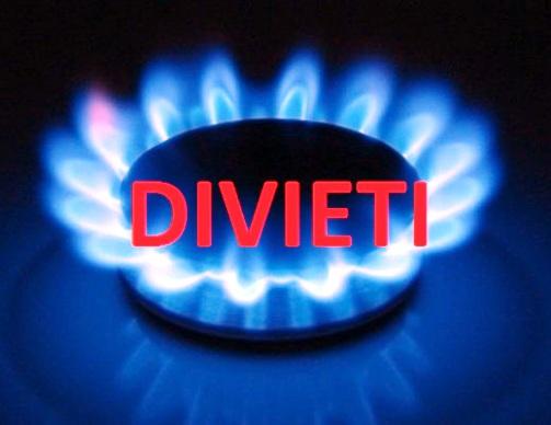 Impianti di adduzione gas, cosa è vietato